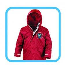 Casllwchwr Primary Waterproof Parka Coat